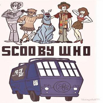 Scooby-Doo / Doctor Who, mashup