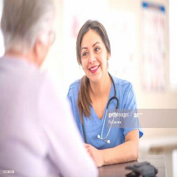 Senior Woman At The Doctors Stock Photo Photography ,