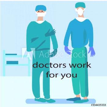 thank you doctors for lives. they are working for us ,