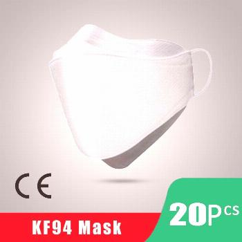 US STOCK 마스크 KF94 Korean Face Mask, KN95 FFP2 3-Layer Non-woven Breathable Mouth Face Mask Ma
