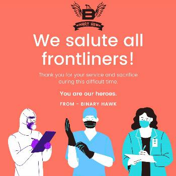 We salute all front liners!