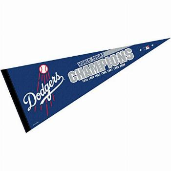 WinCraft Los Angeles Dodgers 7 Time Champions Pennant