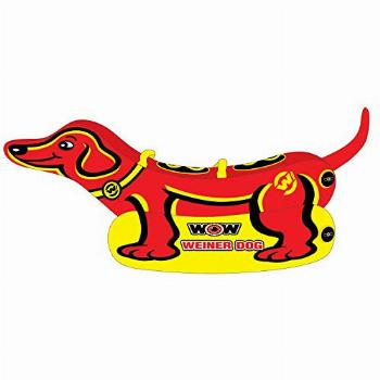 WOW Watersports Weiner Dog 19-1000, 1 to 2 Person Towable