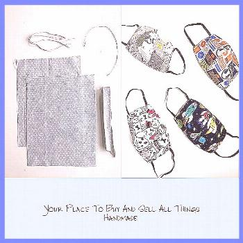 Your Place To Buy And Sell All Things Handmade Face Mask Sewing Pattern and Tutorial  blackchipcirc