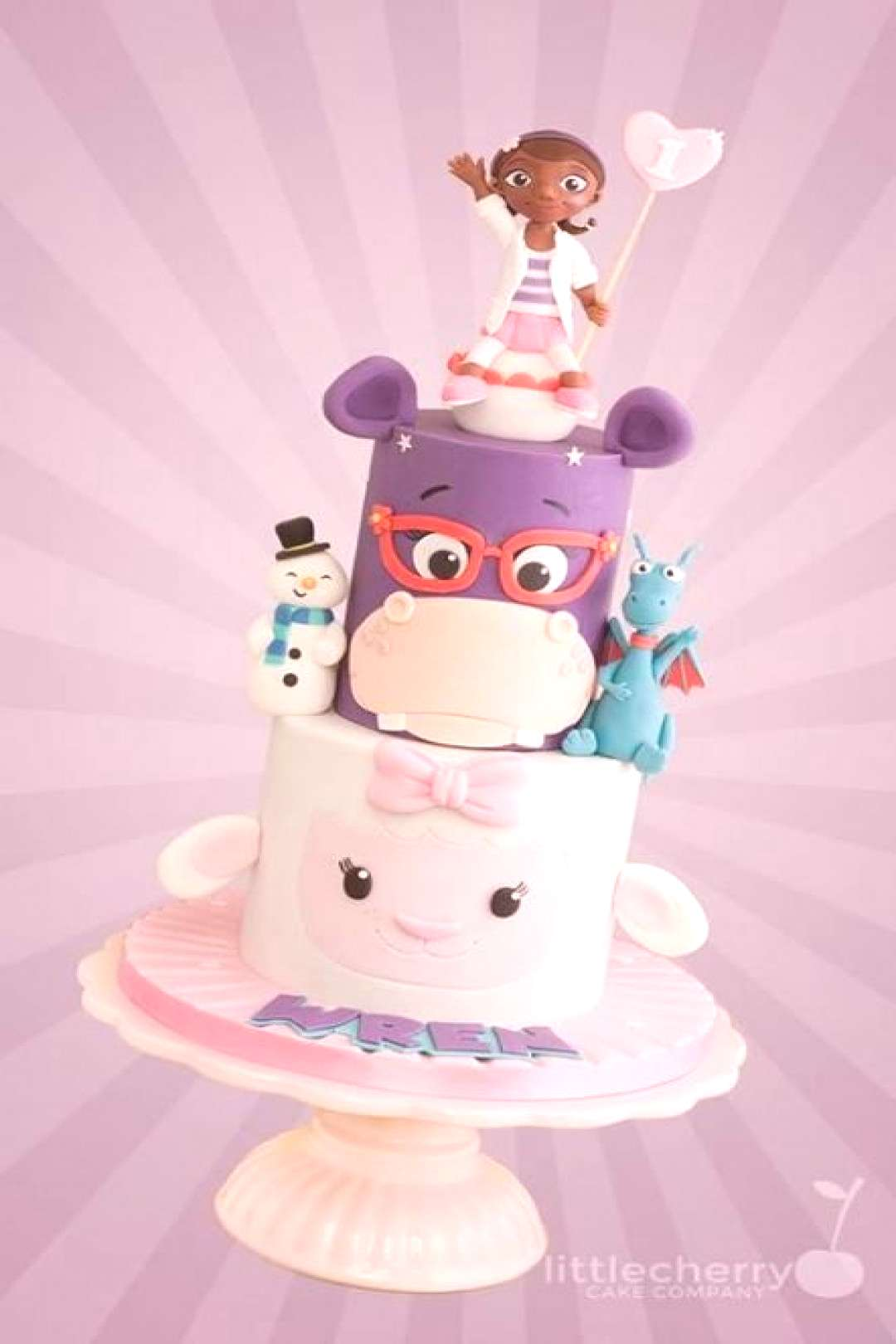 49+ Ideas cake fondant girl doc mcstuffins for 2019 49+ Ideas cake fondant girl doc mcstuffins for