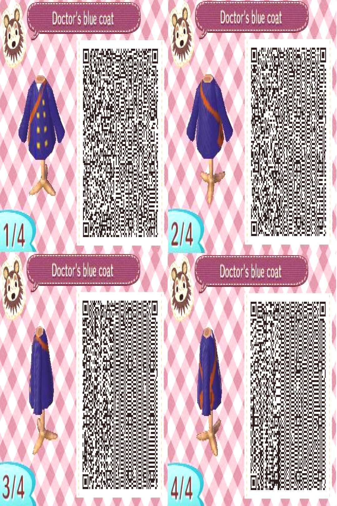 8th doctors alternate coat animal crossing style by impact358 on DeviantArt -
