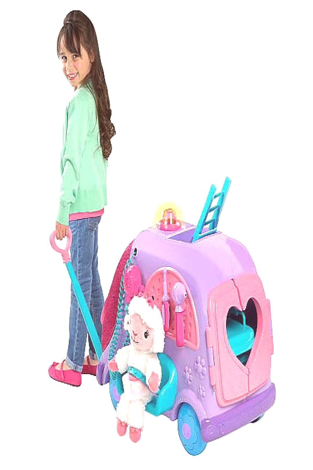 A showstopper of a gift for your little Doc McStuffins fan, the Get Better Talking Mobile Cart ($45