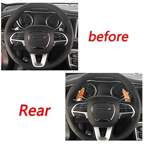 Aluminum Steering Wheel Shift Paddle Extension Cover