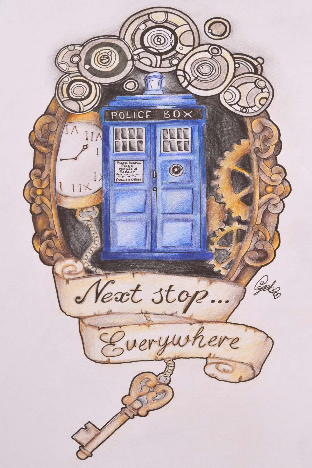 Beautiful Doctor Who art