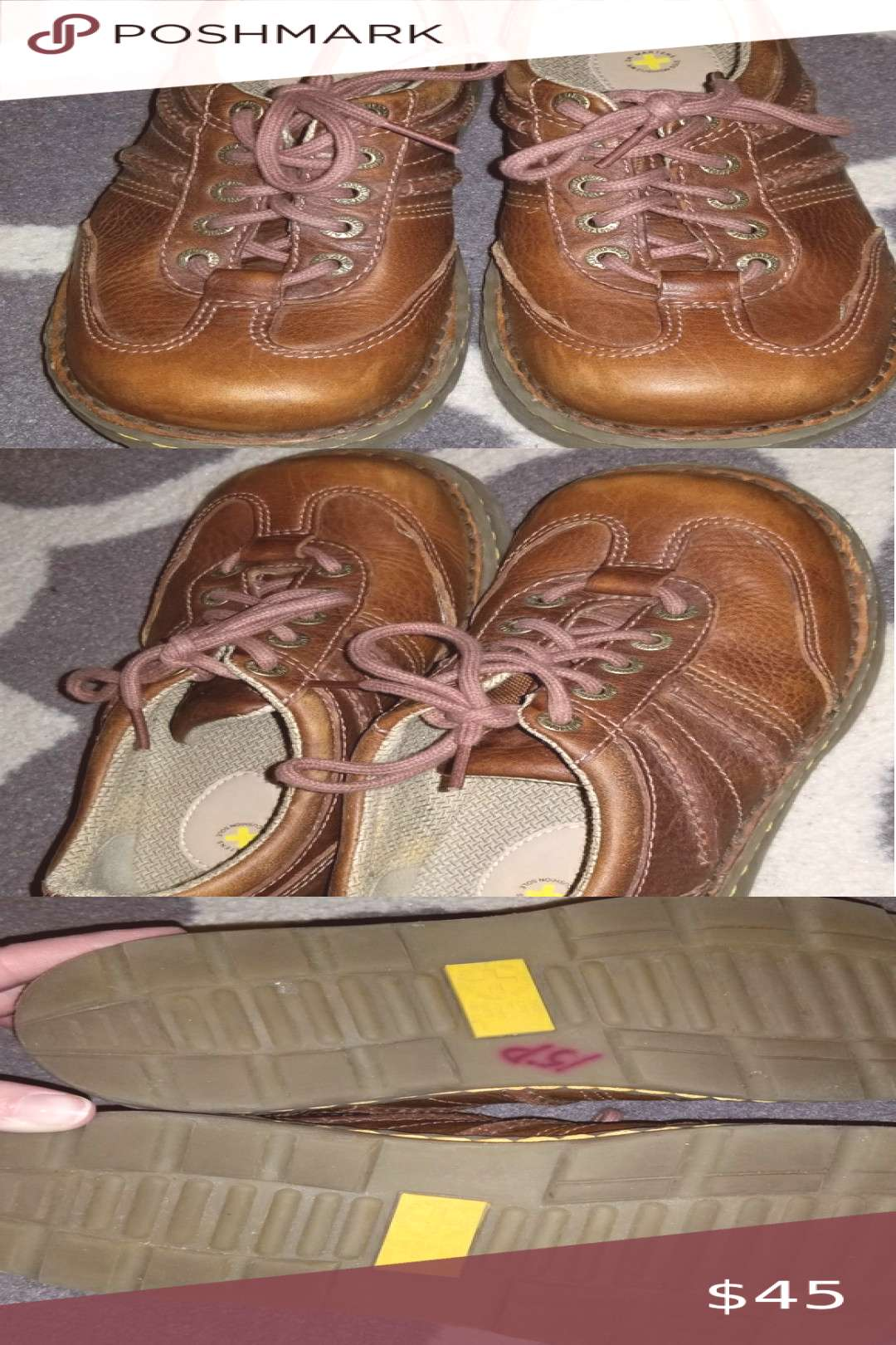 Brown Doc Martins. Mens 5/Womens 6. Size 37. Doc Martins. Mens 5/Womens 6. Size 37. Excellent condi