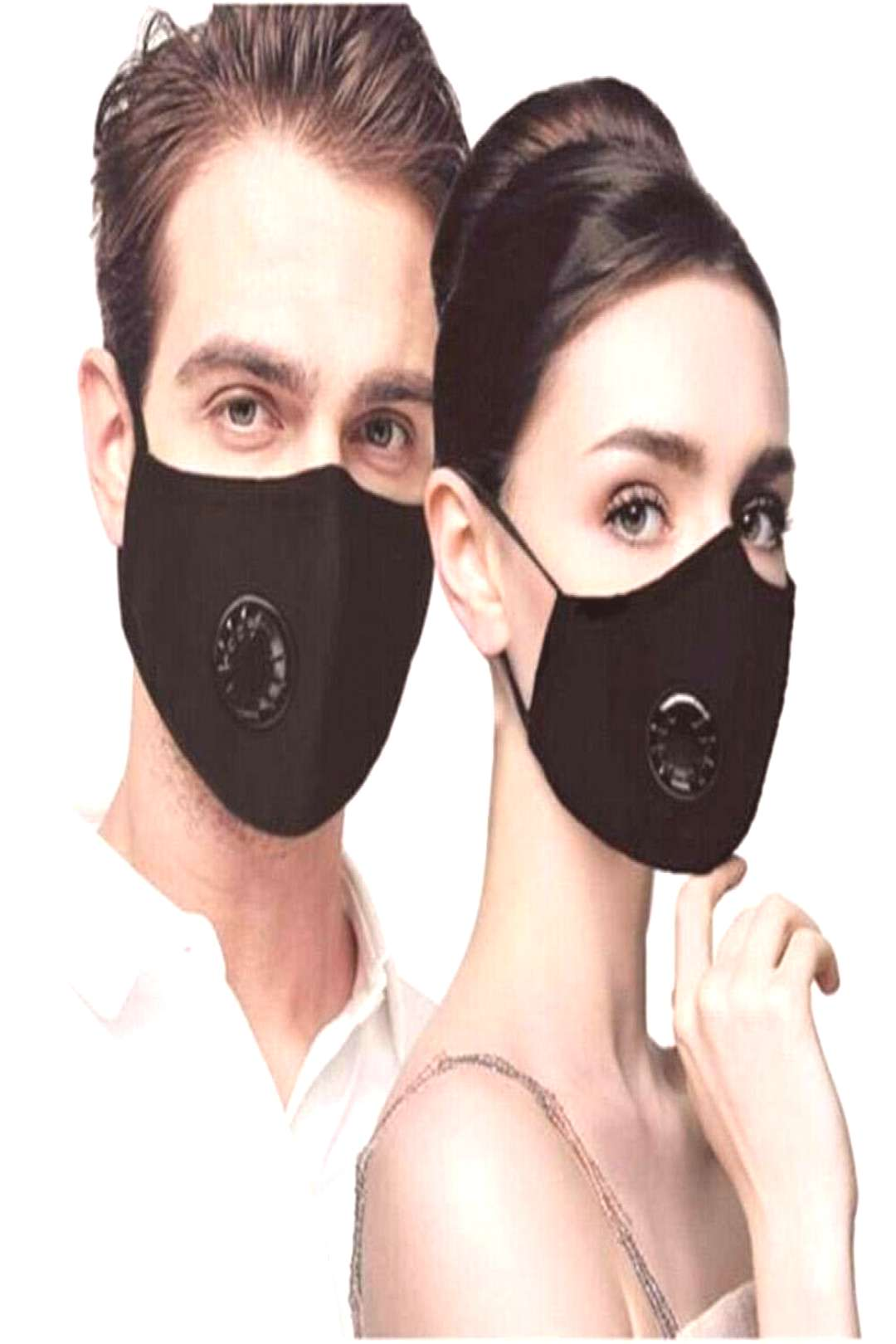 Cotton Breath Valve PM2.5 Mouth Mask Anti-Dust Anti Pollution Mask Cloth Activated Carbon Filter An