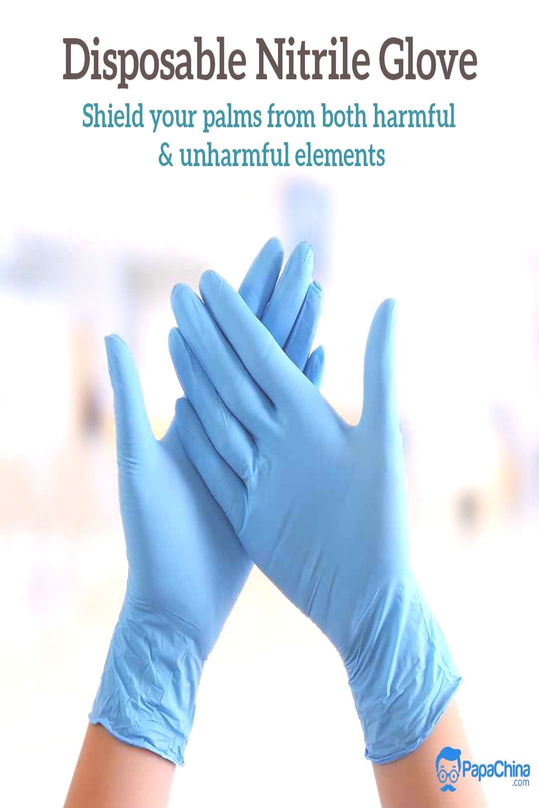 Disposable Nitrile Gloves Shield your palms from both harmful amp unharmful elements.