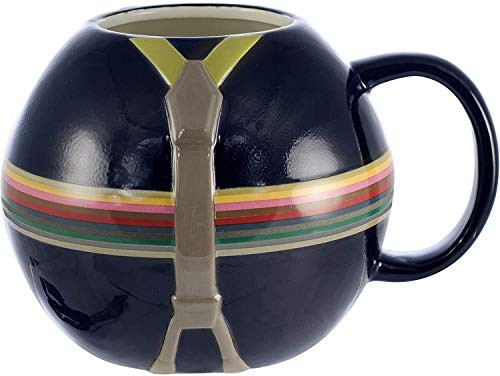 Doctor Who 13th Doctor Mug with Rainbow Stripes - Time for a