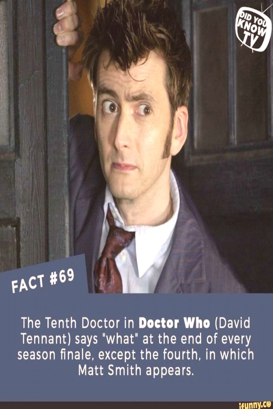 Doctor Who Facts Geek Doctor who facts ; arzt,  der fakten ; docteur qui fait ; doctor que hechos ;