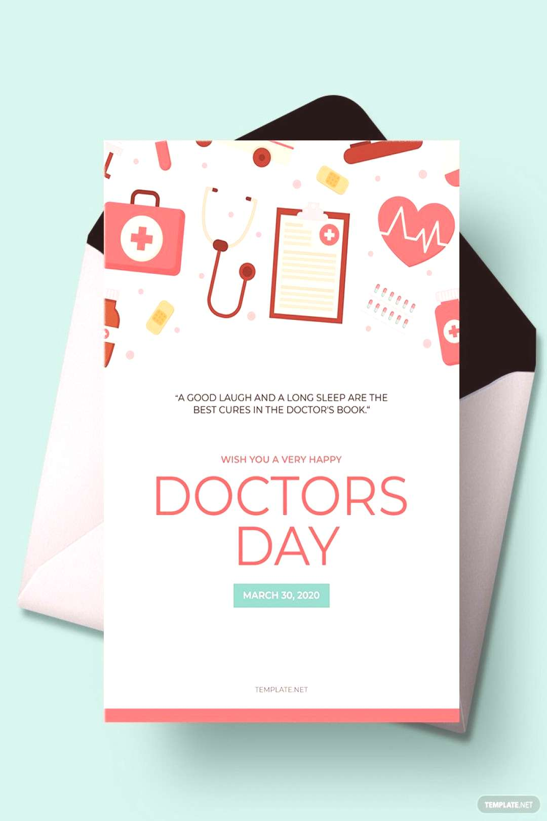 Doctors' Day Greeting Card ,