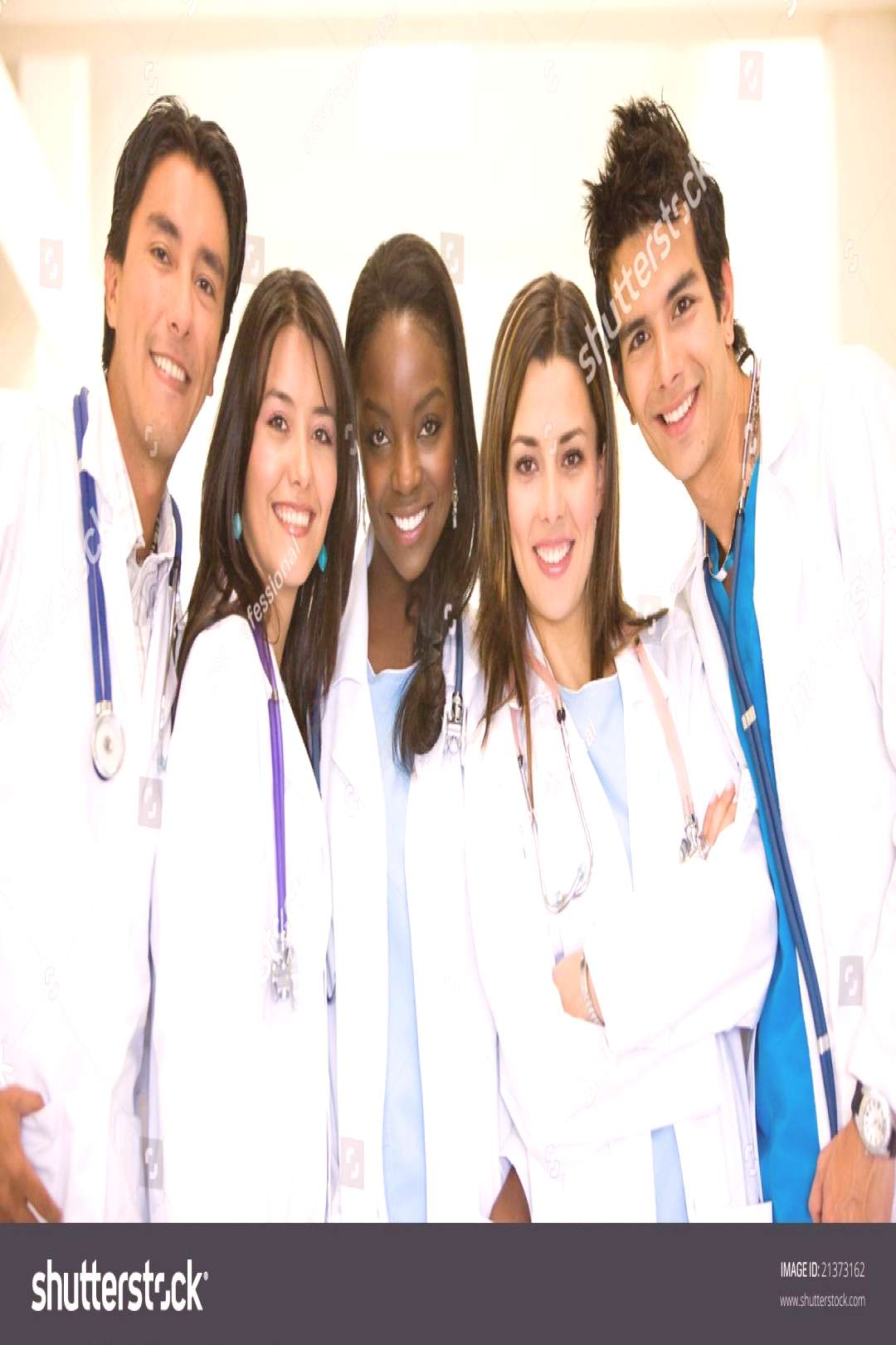 Doctors Hospital Smiling Looking Friendly Stock Photo (Edit Now) 21373162 -