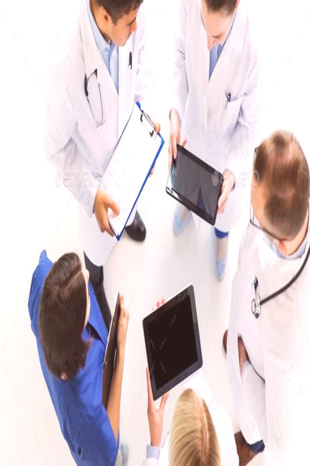 doctors with cardiogram and and tablet pc by dolgachov. medicine, healthcare, people and cardiology