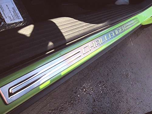 Dodge Challenger Stainless Steel Sill Guards Protectors Set
