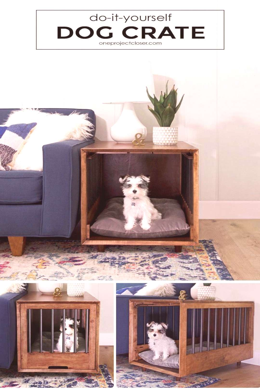 dog crate apartment