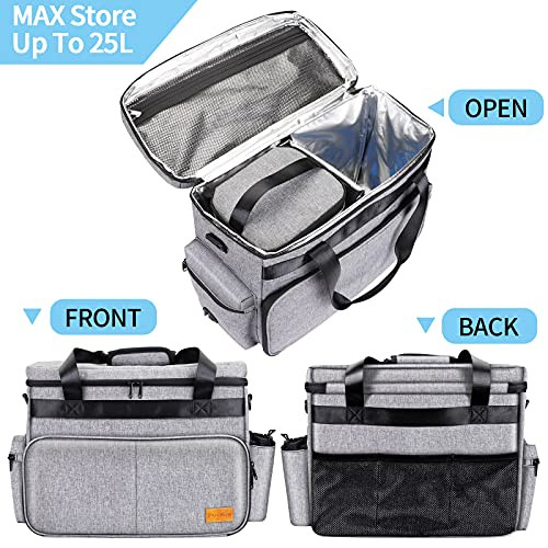 Dog Travel Bag, Airline Approved Pet Tote Organizer with