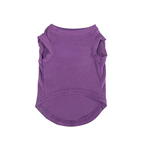 Dogs Shirts Vest Clothing for Dogs Cats Smallamp Medium Dog,