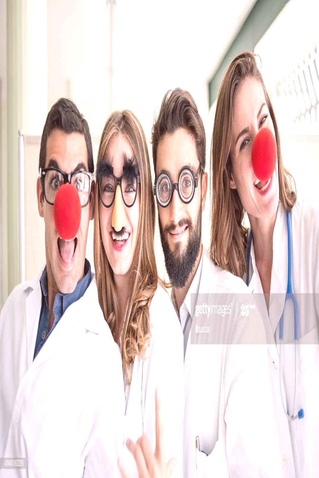 Funny Clown Doctors Pediatricians Photography ,
