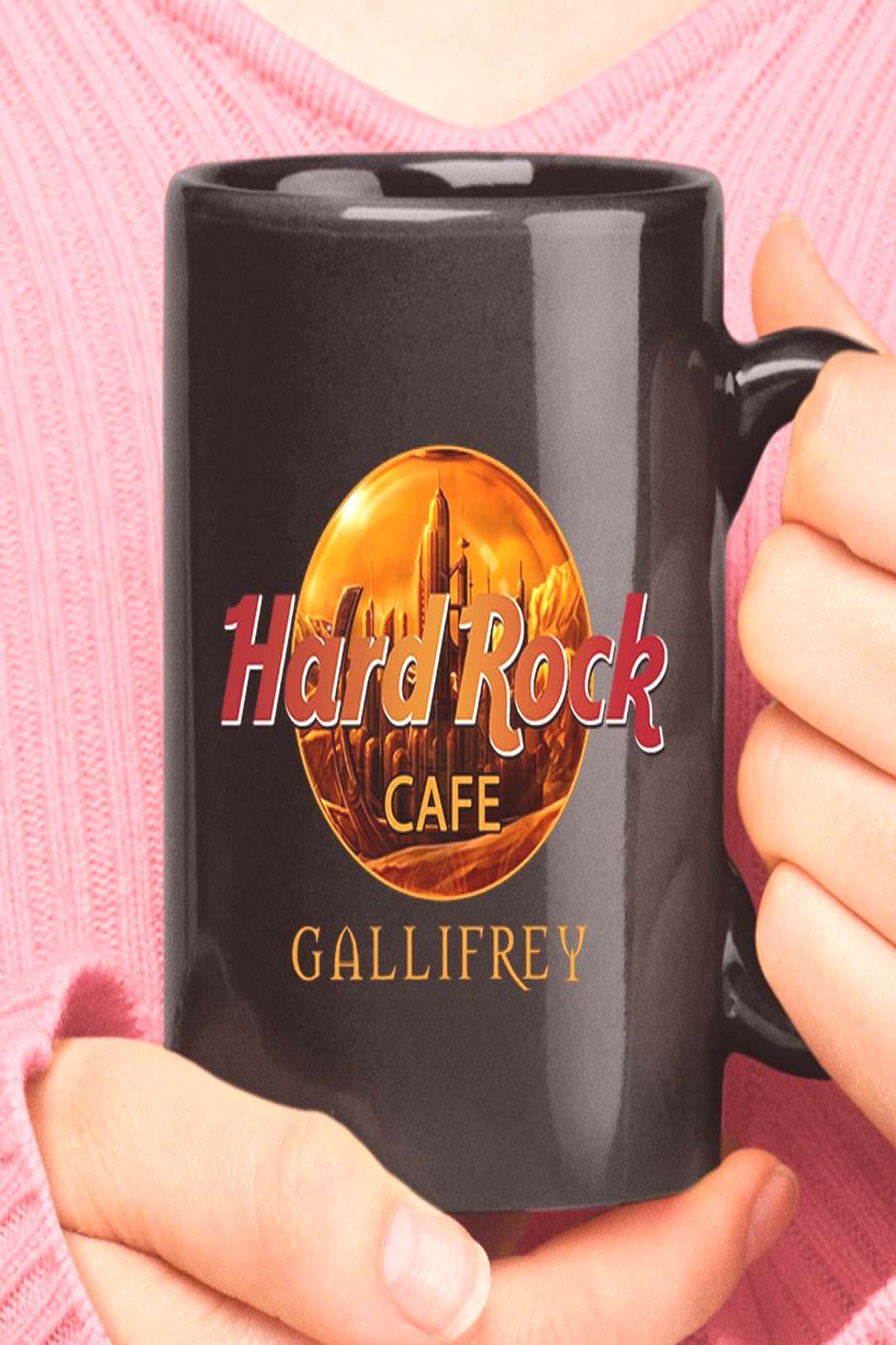 Hard Rock Cafe Gallifrey Doctor Who Mug - Snoopy Facts
