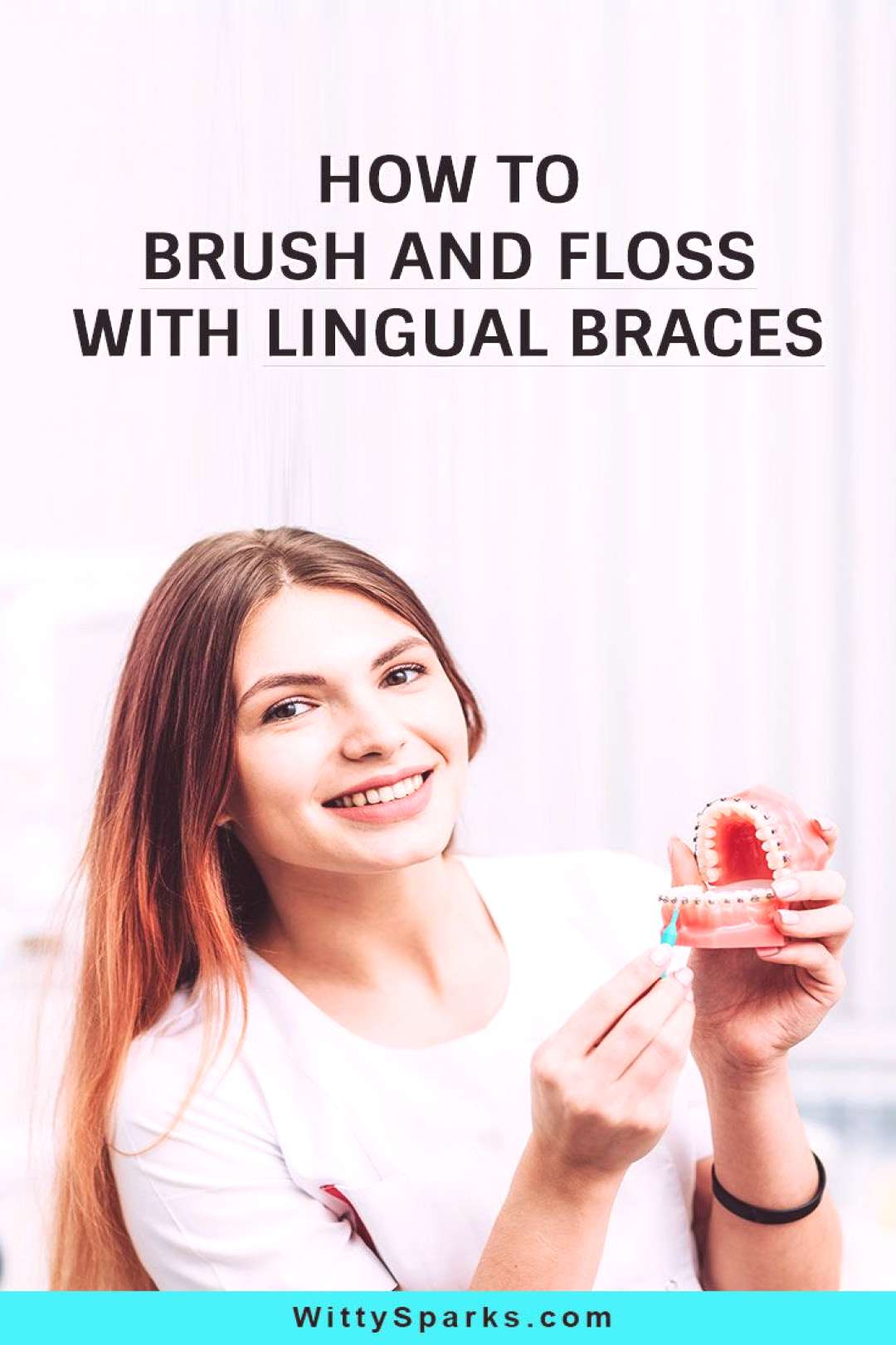 How To Clean Teeth With Lingual Braces The orthodontic treatment with lingual braces is not just ab