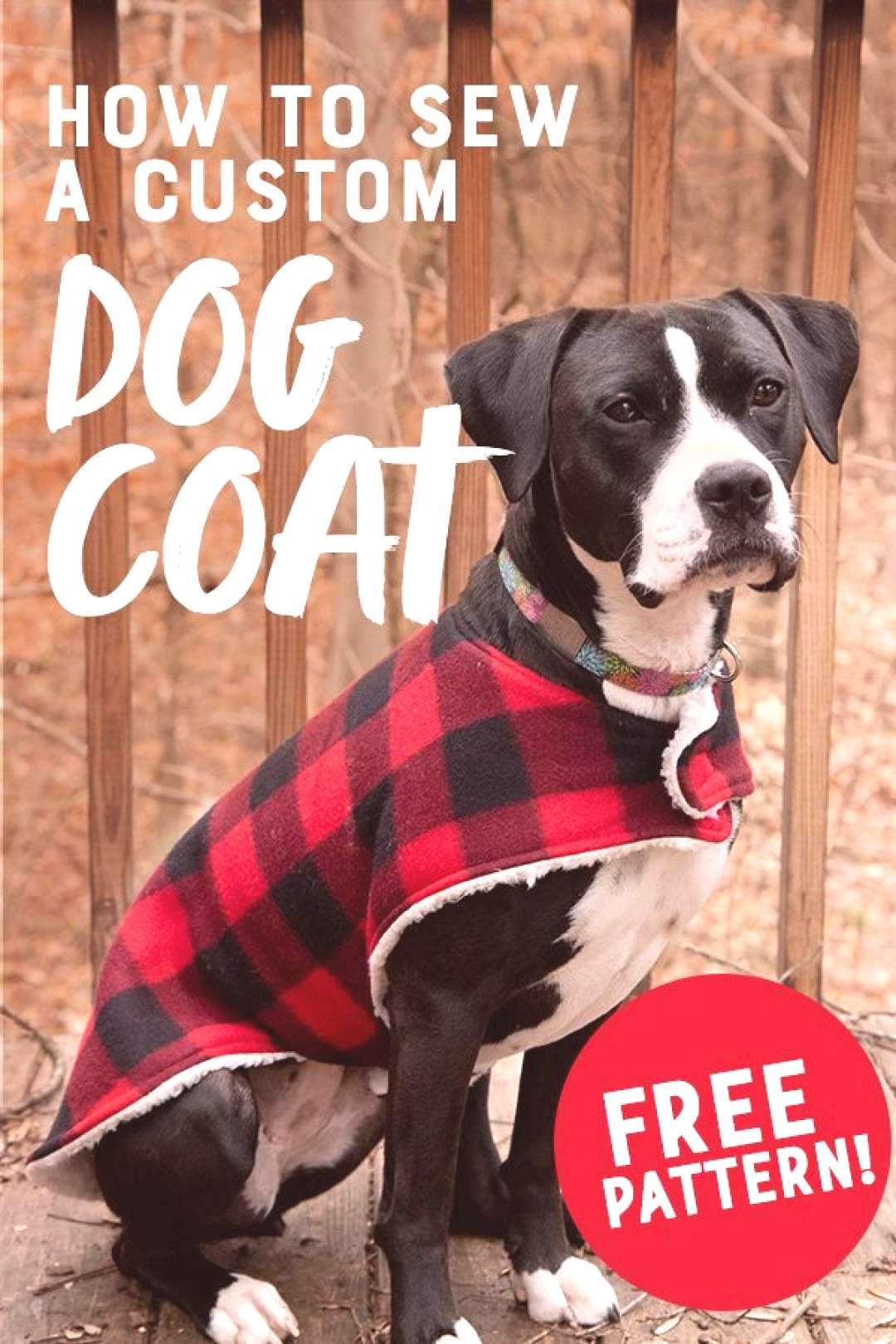 How to Sew a Cozy Custom Dog Coat in Less than an Hour This cozy custom dog coat is a super easy be