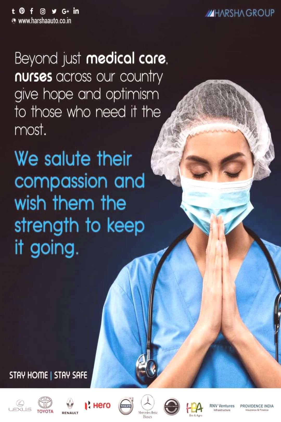 It's more than medical care. It is about compassion and love for others. Our nurses are our careg