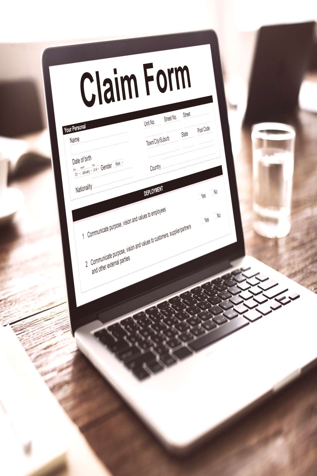 Knowing about the Basics of The insurance claims process begins when a gives the patient treatment