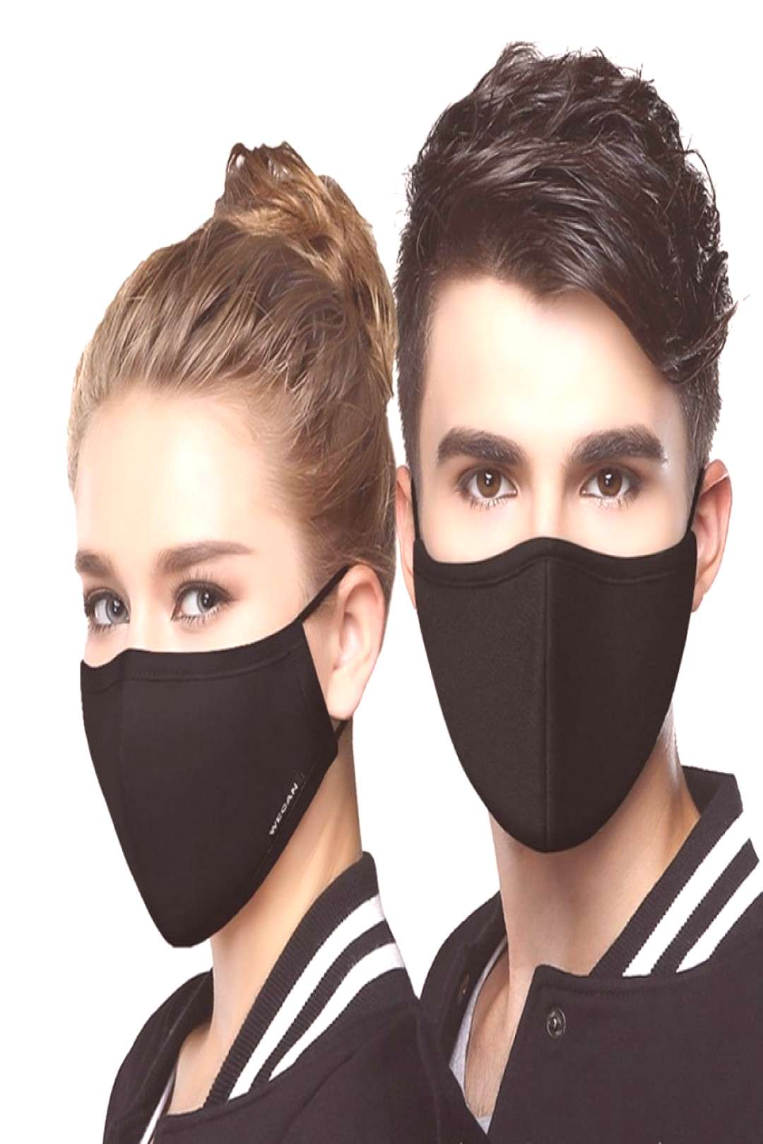 korean Cotton Anti Dust Mouth Face Mask Kpop Unisex mask with 8pcs Carbon Filter Medical KN95 Anti