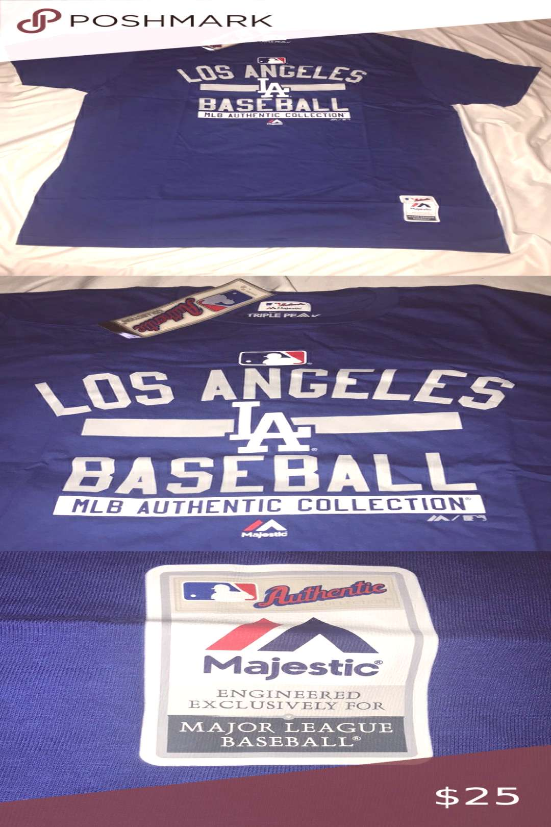 LA Dodgers Baseball Tee LA Dodgers Baseball Tee Size XXL Brand New with Tags Great Condition Smok