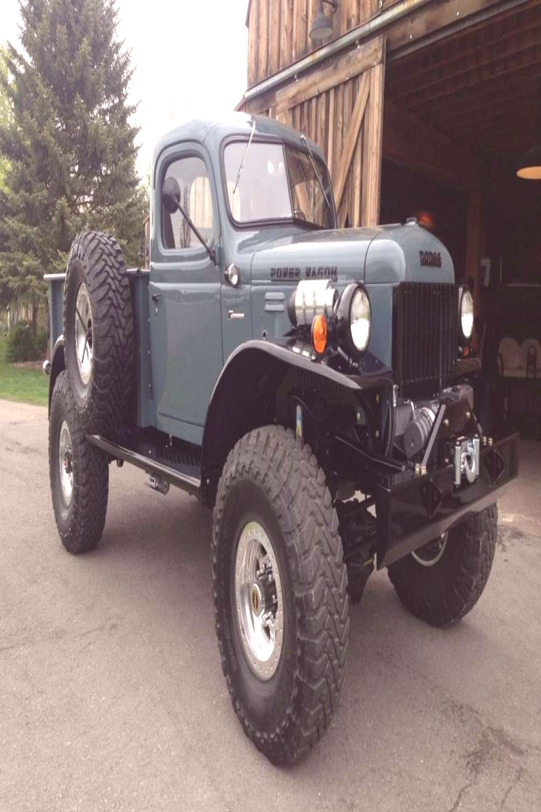 Legacy Classic Trucks Inventory - 1947 Dodge Power Wagon 2DR