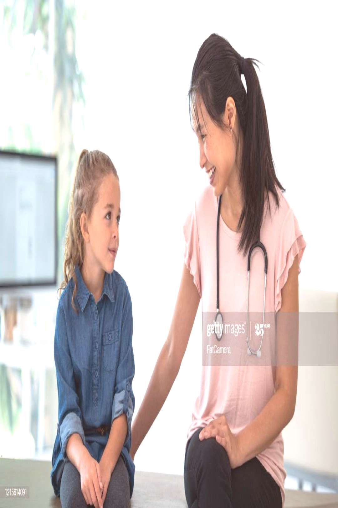 Little Girl At The Doctors Office Stock Photo Photography ,