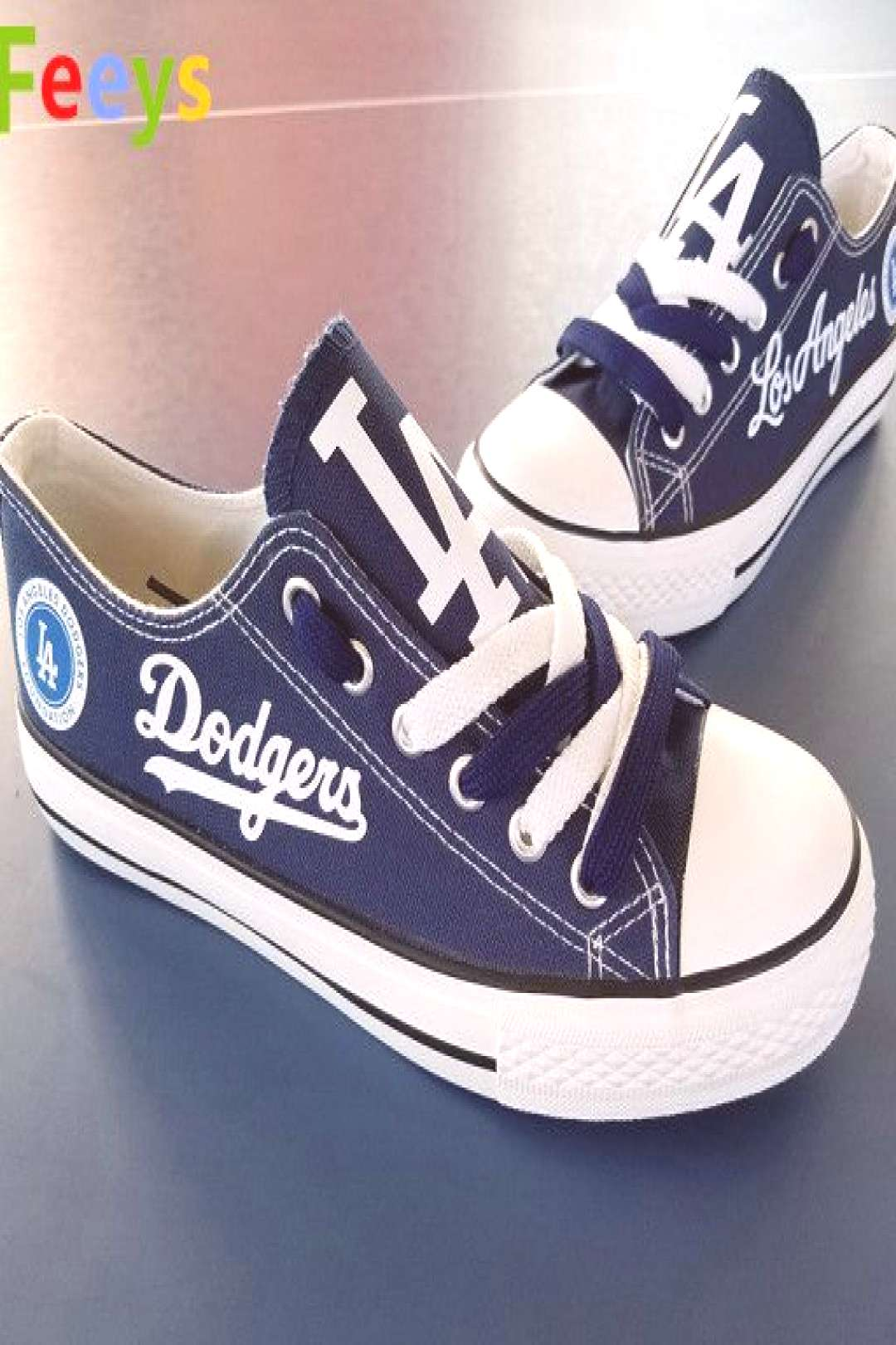Los Angeles Dodgers shoes womens LA dodgers sneakers baseball fashion Christmas gift birthday gift