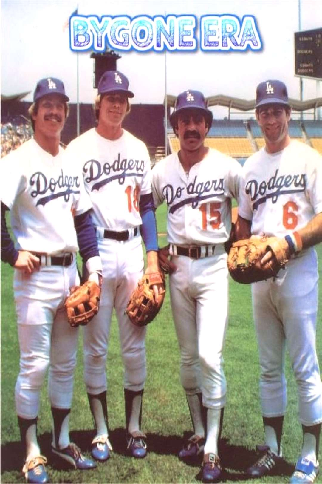 Los Angeles LA Dodgers 1970's Infield Cey Russell Lopes Garvey Poster Art Photo Artwork 11x14 16x20