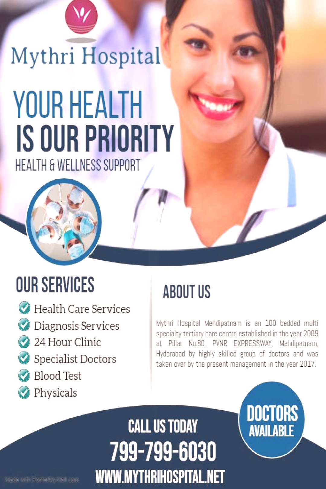 Mythri Hospital | quotYour Is Our Offer Special For Our In Way Top | Qualified | Excellent Area | City