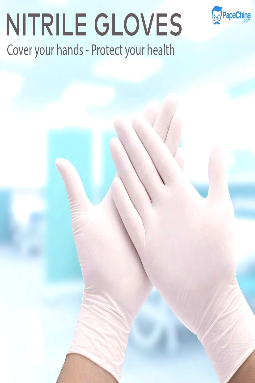 Nitrile Gloves Cover your hands and Protect your health.