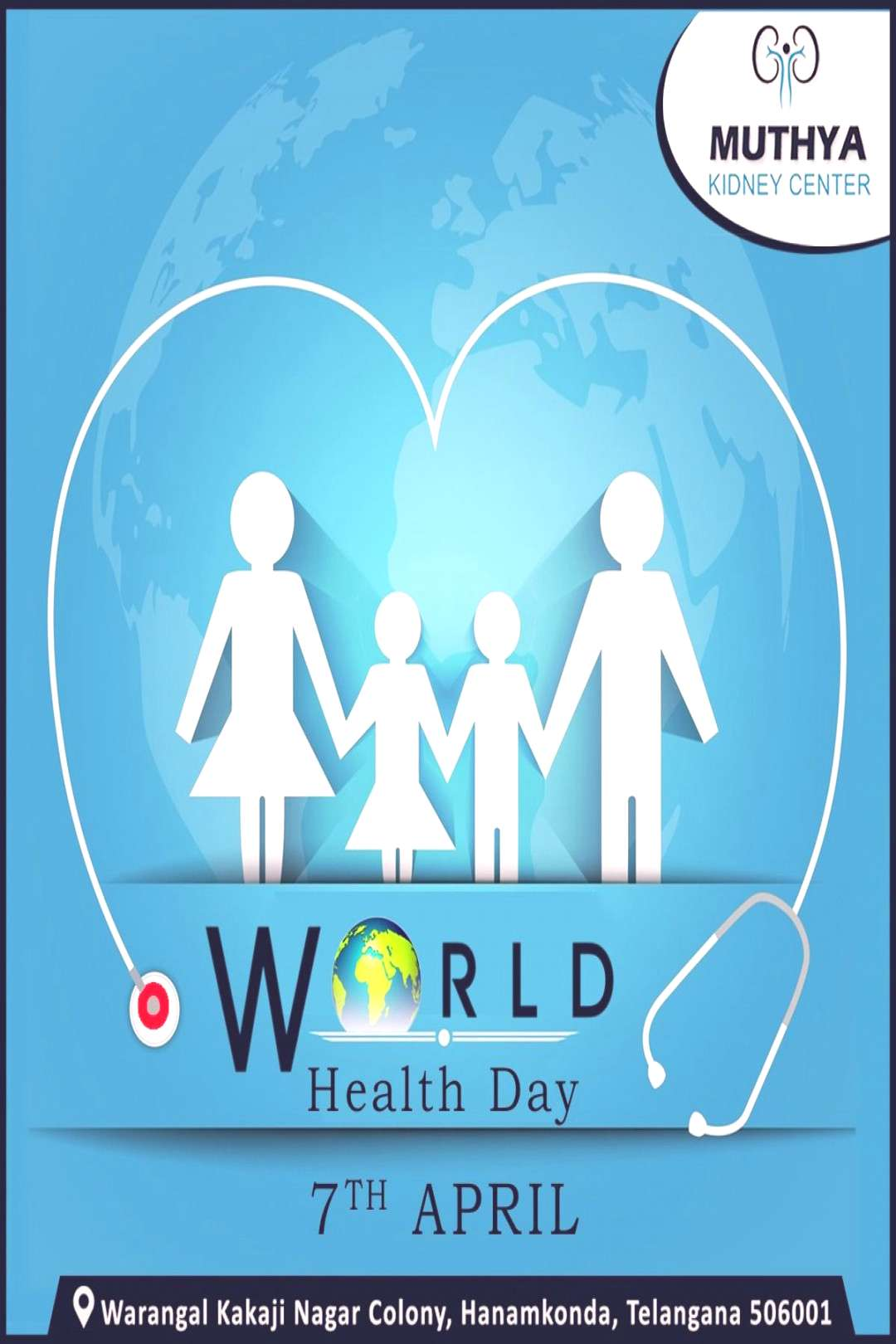 On this world health day, let's express our gratitude to all Doctors, nurses, midwives and all fron