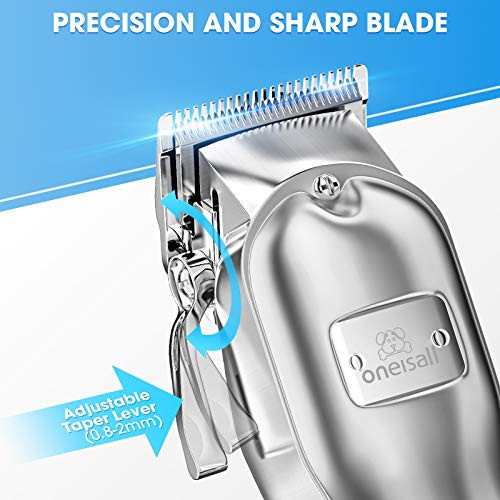 oneisall Dog Clippers for Grooming Professional Cordless