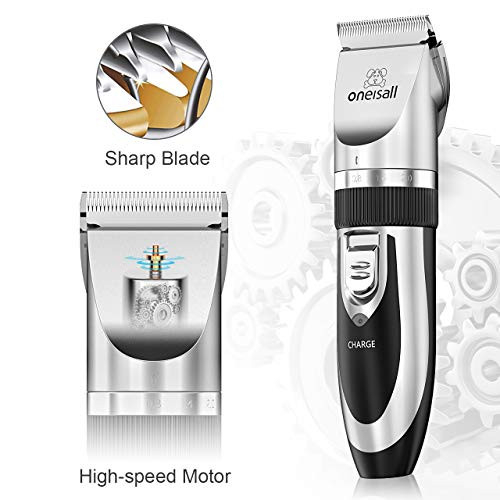 oneisall Dog Shaver Cllippers Low Noise Rechargeable
