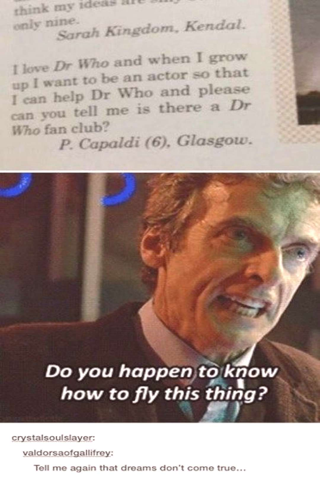 Only Possible in Doctor Who  - Crafted from the finest Internets.