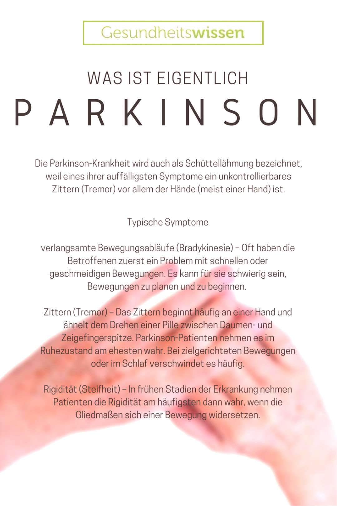 Parkinson's disease, known by doctors as Parkinson's disease, is one of the ... -  Parkinson's dise