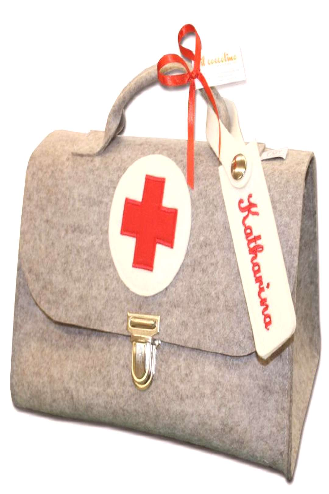 Personalized doctor's case - lovingly sewn!-Personalisierter Arztkoffer – liebevoll genäht!  Per