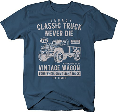 Power Wagon Vintage Distressed 4x4 Truck Military Classic