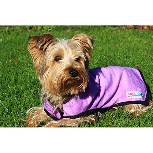 Prestige Pet Products Cool Coat for Dogs, Large, Pink