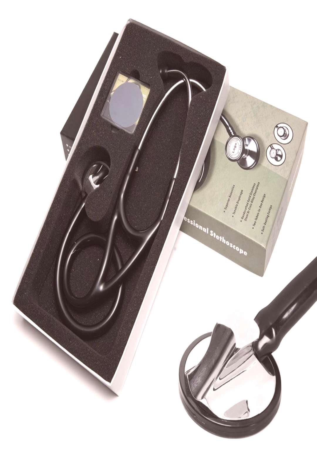 Professional Heart Lung Cardiology Stethoscope Doctor Student Medical Equipment Device Medical Doct