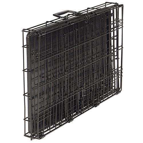 Proselect Easy Dog Crates for Dogs and Pets - Black Extra