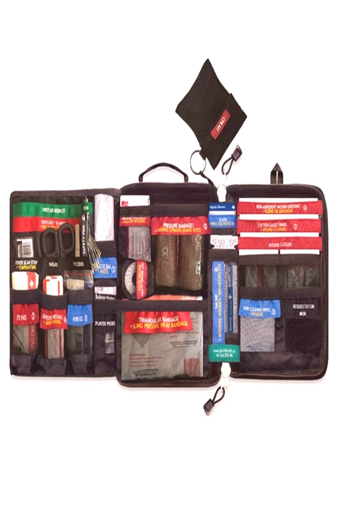 Safe Wilderness Survival Car Travel First Aid Kit Medical Bag Outdoors First-Aid Kit Camping Emerge